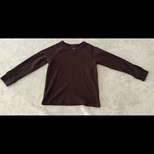 Children's Place 4T Black Long Sleeve Thermal